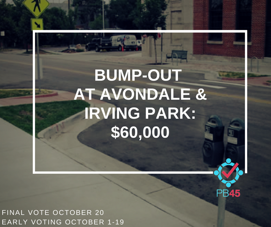 Avondale/Irving Park Bump-Out